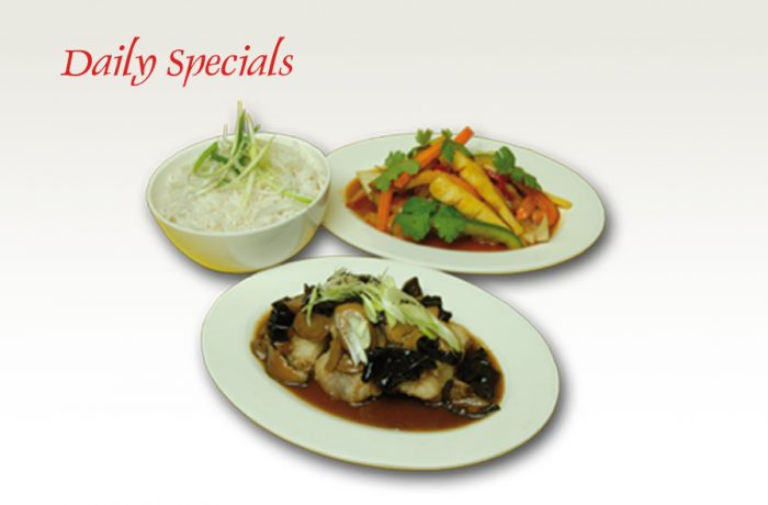 Daily Specials with choices of sauce